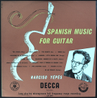 LXT2974 Yepes (g) Spanish Music For Guitar