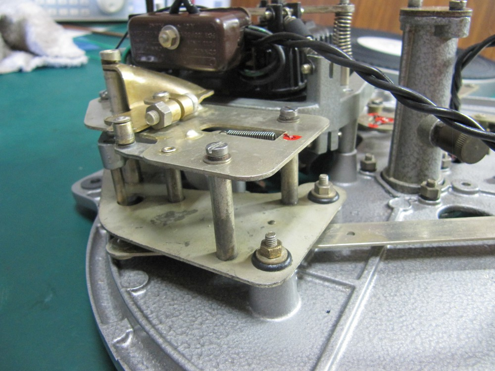 garrard 301 turntable service parts