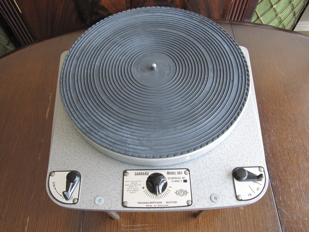 garrard 301 turntable service