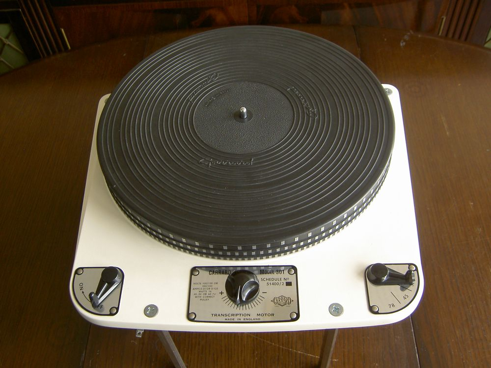 garrard 301 turntable weight scale